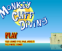 594H493_monkey-cliff-diving_monkey-go-happy